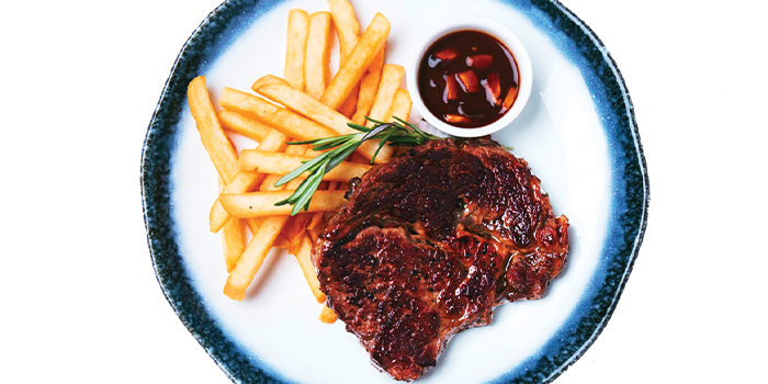 Ribeye Steak from The Grumpy Bear at Bukit Timah Plaza in Bukit Timah, Singapore