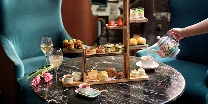 Peranakan Afternoon Tea from The Lobby Lounge in InterContinental Singapore in Bugis, Singapore