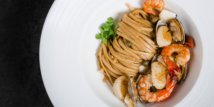 Seafood Linguine from The Lobby Lounge in InterContinental Singapore in Bugis, Singapore