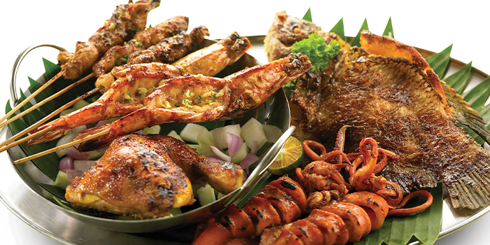 Combo Bakar from Bali Thai (Causeway Point) at Causeway Point in Woodlands, Singapore