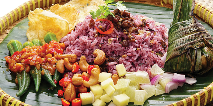 Black Olive Rice from Bali Thai (Causeway Point) at Causeway Point in Woodlands, Singapore