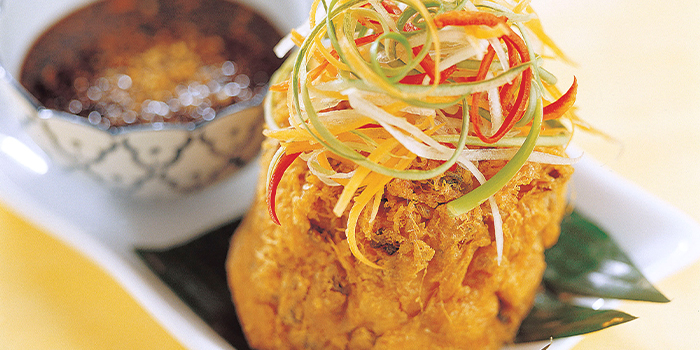 Tahu Telor from Bali Thai (Causeway Point) at Causeway Point in Woodlands, Singapore