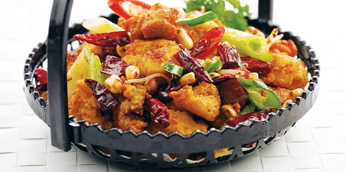 Sze Chuan Chicken in Basket from Honguo (Bugis Junction) at Bugis Junction in Bugis, Singapore