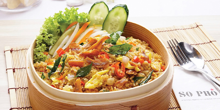 Basil Leaves Fried rice from So Pho (ION Orchard) at ION Orchard in Orchard, Singapore