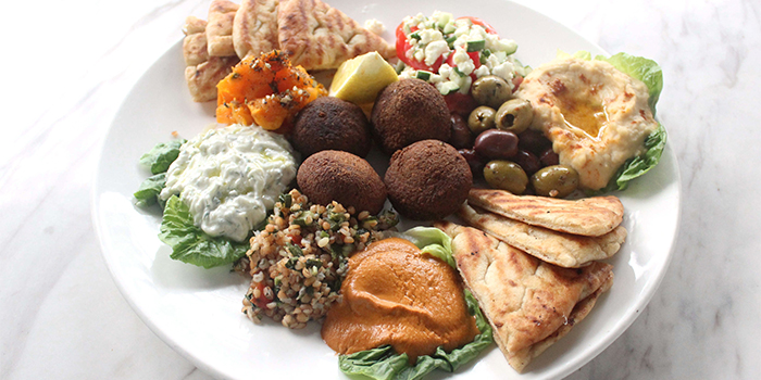 Medittaranean Mezze from The Dempsey Project in Dempsey, Singapore