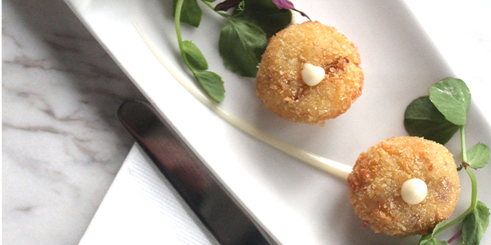 Parma ham Croquette from The Dempsey Project in Dempsey, Singapore