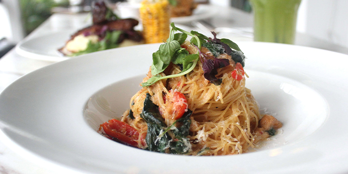 Crab Angle Hair Pasta from The Dempsey Project in Dempsey, Singapore