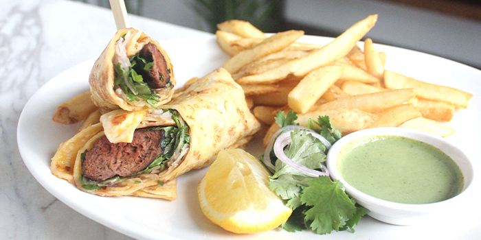 Lamb Kebab Roll from The Dempsey Project in Dempsey, Singapore