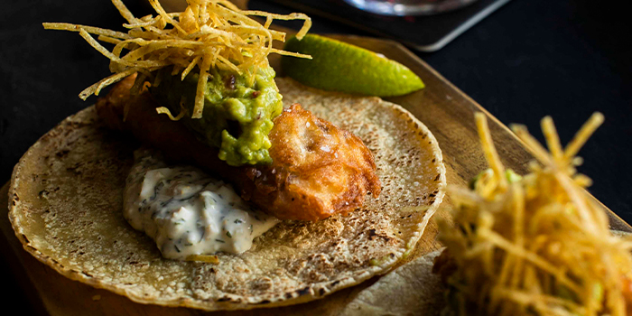 Fish & Chips Taco from Heart of Darkness in Outram, Singapore