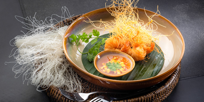 Food from Chao Leh Kitchen in Patong, Phuket, Thailand