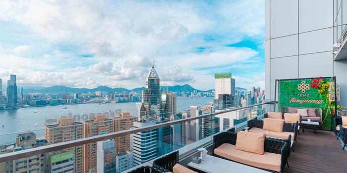 Balcony, Zeng, Causeway Bay, Hong Kong