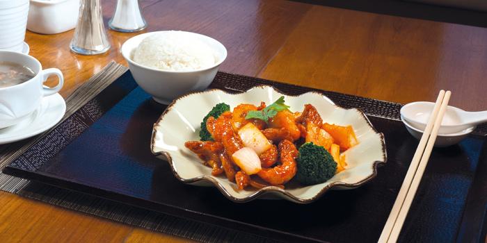 03 Sweet Sour Chicken Lunch Set, Mall Café, Tsim Sha Tsui, Hong Kong