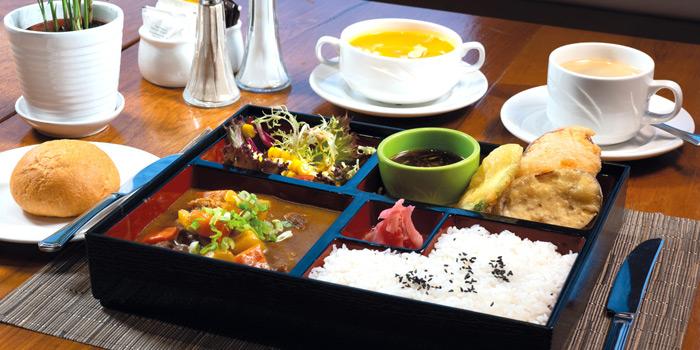04 Japanese Beef Curry Bento Lunch Set, Mall Café, Tsim Sha Tsui, Hong Kong