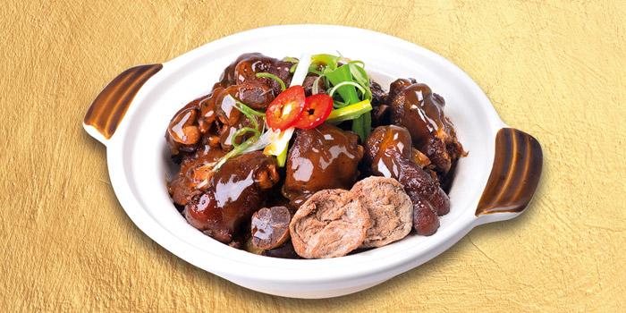08 Braised Pork Knuckle with Dried Plum Claypot, Mall Café, Tsim Sha Tsui, Hong Kong