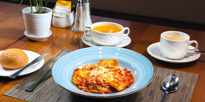 05 Vegetarian Lunch Set, Mall Café, Tsim Sha Tsui, Hong Kong
