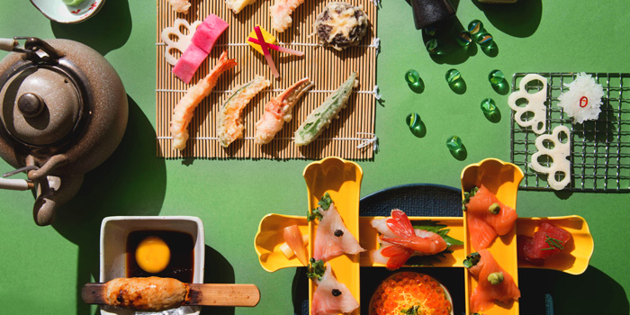 Sushi, The Astor, Jordan, Hong Kong