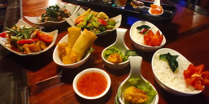 Selection of Food from Fork & Cork Bar & Restaurant at W22 Hotel 422 Mittraphan Rd., Pomprap, Pomprapsattruphai Bangkok