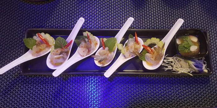 Appetizer from Fork & Cork Bar & Restaurant at W22 Hotel 422 Mittraphan Rd., Pomprap, Pomprapsattruphai Bangkok