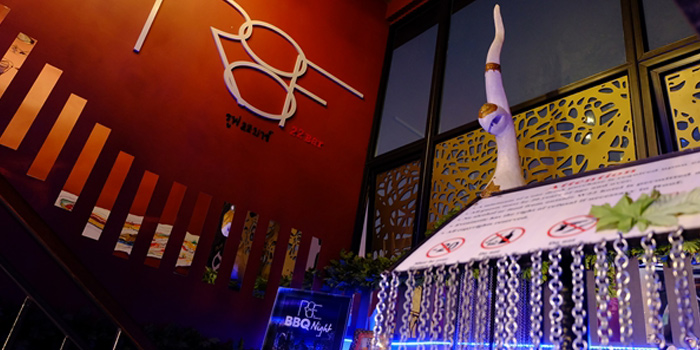 Ambience from Fork & Cork Bar & Restaurant at W22 Hotel 422 Mittraphan Rd., Pomprap, Pomprapsattruphai Bangkok