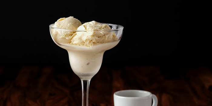 Vanilla Ice Cream from Bailamos Bistro Bar & Cafe in Jalan Besar, Singapore