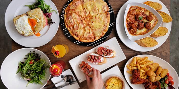 Food Spread from Bailamos Bistro Bar & Cafe in Jalan Besar, Singapore
