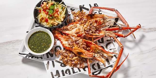 Grilled Lobster, Greyhound Cafe (Times Square), Causeway Bay, Hong Kong