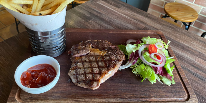 Australian Angus Rib Eye Steak, The Lot On Possession, Sheung Wan, Hong Kong