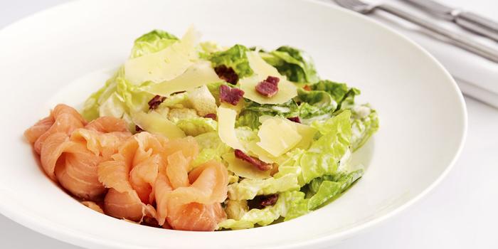 Smoked Salmon Salad, The Lot On Possession, Sheung Wan, Hong Kong