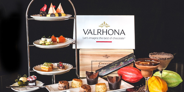 Full Valrhona Tea Set, Prompt, Cyberport, Hong Kong