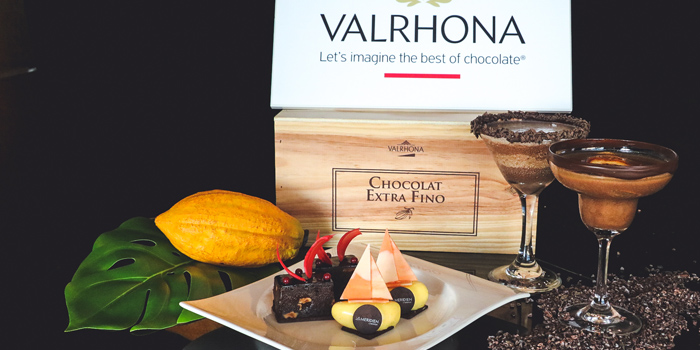 Valrhona Tea Set, Prompt, Cyberport, Hong Kong