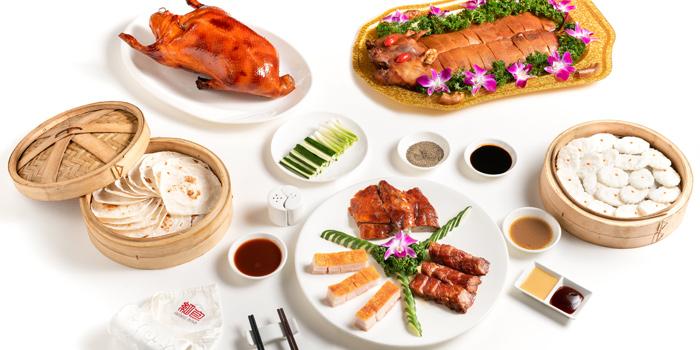 Food from Hong Bao, Bangkok, Thailand.