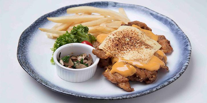 Cheesy Chicken from The Grumpy Bear @ Ang Mo Kio at Kebun Baru Community Centre in Ang Mo Kio, Singapore