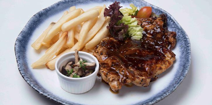 Black Pepper Chicken from The Grumpy Bear @ Ang Mo Kio at Kebun Baru Community Centre in Ang Mo Kio, Singapore