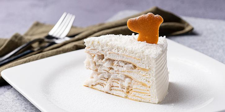 Coconut Crepe Cake, Greyhound Cafe (Times Square), Causeway Bay, Hong Kong