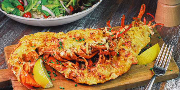 Lobster Thermidor from Leon by Cocotte at Emquatier G Floor, 693-695 Sukhumvit Rd, Khlong Tan Nuea, Watthana, Bangkok