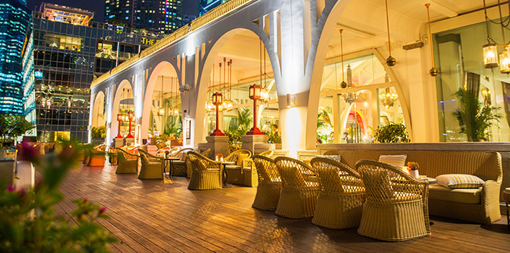 Exterior of The Clifford Pier in Fullerton Bay Hotel, Singapore