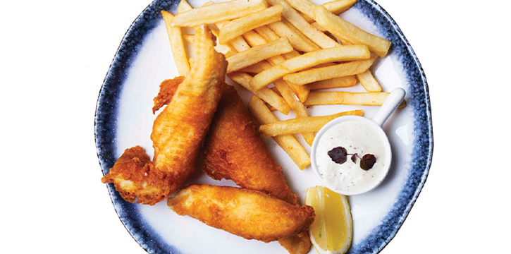 Old Skool Fish & Chips from The Grumpy Bear at Bukit Timah Plaza in Bukit Timah, Singapore