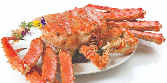 Classic White Pepper Live Alaskan King Crab from Long Beach @ Robertson Quay at The Quayside in Robertson Quay, Singapore