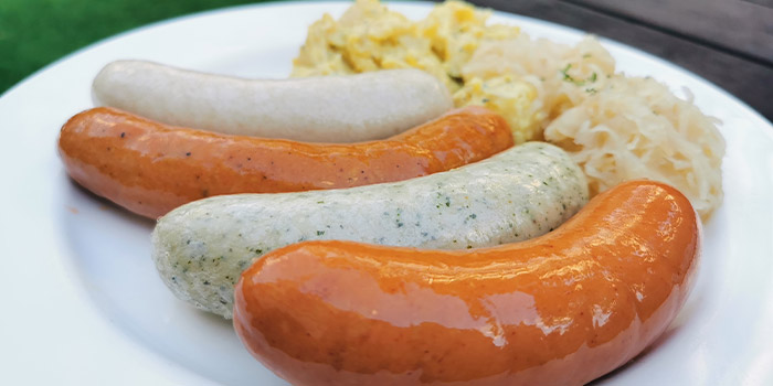 German Sausage Platter from Brauhaus Restaurant & Pub in Novena, Singapore