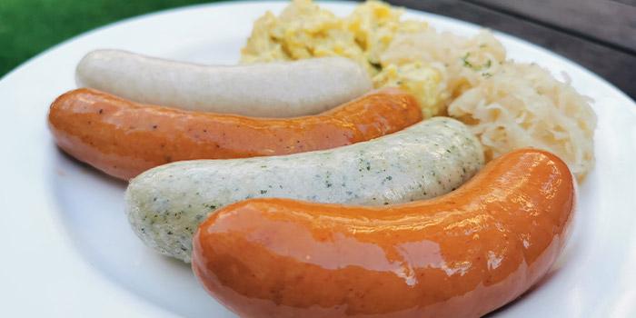 German Sausage Platter from Brauhaus Restaurant & Pub in Novena, Singapore