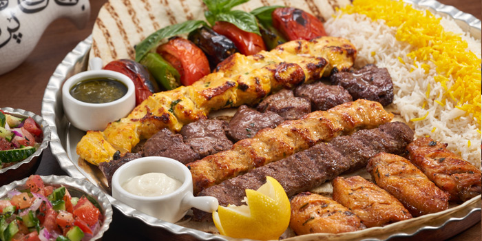 Kebab Lovers (Mix Kebab), LOVEAT - Persian Cuisine, Central, Hong Kong