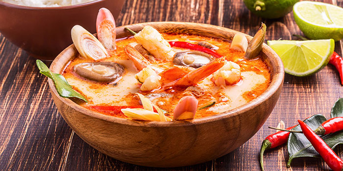 Tom Yam Soup from Royal Thai in East Coast, Singapore