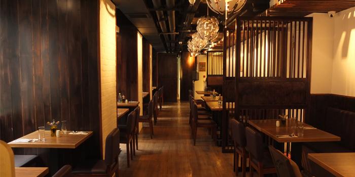 Dining Area, Monteverdi Restaurant and Bar, Central, Hong Kong