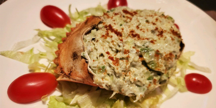 Crab Salad, Monteverdi Restaurant and Bar, Central, Hong Kong