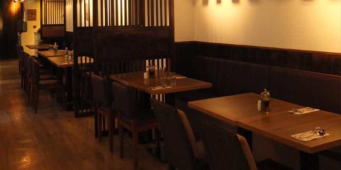 Interior, Monteverdi Restaurant and Bar, Central, Hong Kong