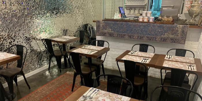 Interior, LOVEAT - Persian Cuisine, Central, Hong Kong