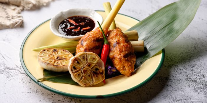 Sate Lilit from Ginger in PARKROYAL on Beach Road in Bugis, Singapore