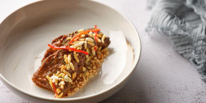 Slow-braised Beef Rendang from Ginger in PARKROYAL on Beach Road in Bugis, Singapore
