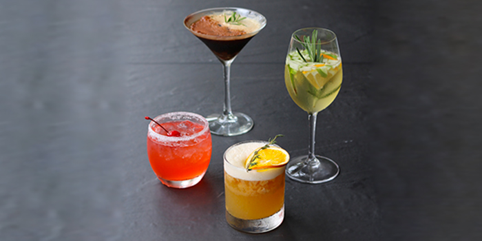 Cocktail Group from Bao Makers in Chinatown, Singapore