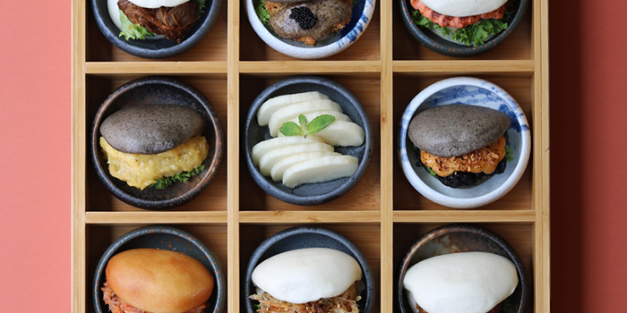 Tasting Platter from Bao Makers in Chinatown, Singapore